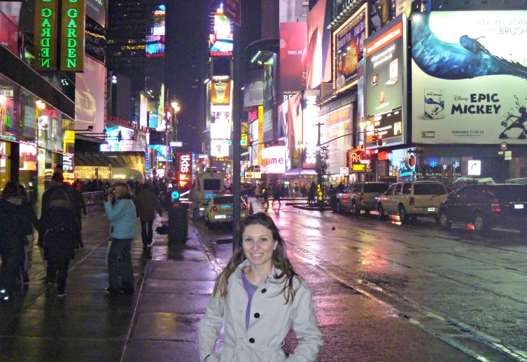 Sarah in NYC