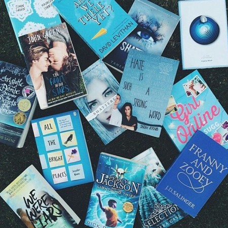 Blue cover magic via thebookcube ft hateissuchastrongword among some greatshellip