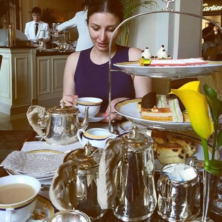 From the weekend Afternoon Tea at the peninsulahongkong the grandehellip