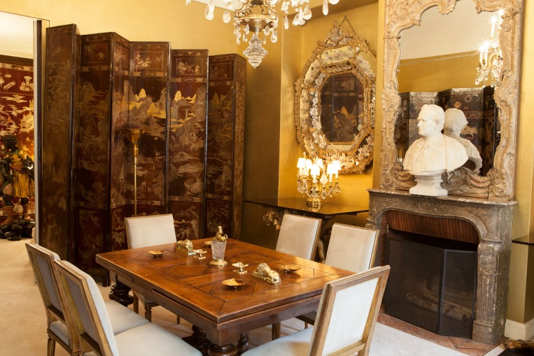 Inside Coco Chanel's apartment