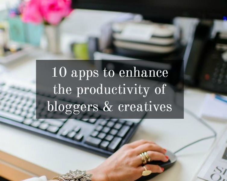 Apps that enhance blogger productivity