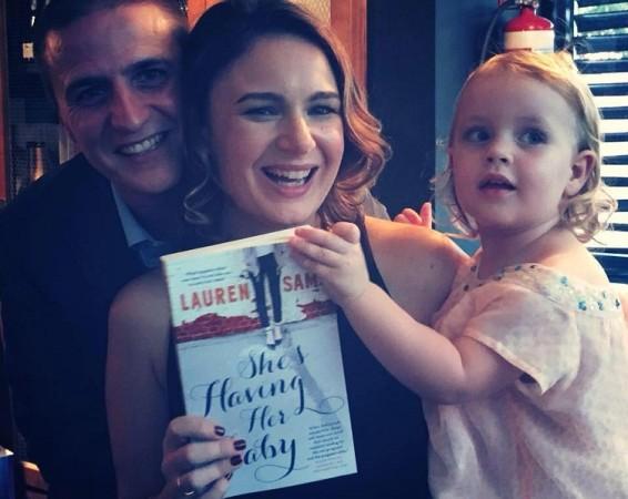 First Book Journey: Lauren Sams' She's Having Her Baby